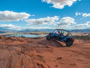 St. George: ATV-Abenteuer bei Sonnenuntergang in der Nähe des Zion-Nationalparks