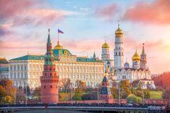 Moscou: Kremlin, Câmara de Arsenal e Diamond Fund Tour