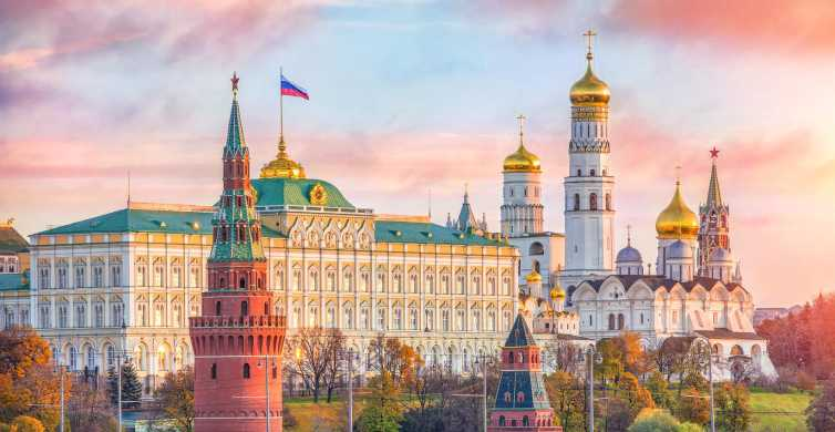 Moscow: Kremlin, Armoury Chamber and Diamond Fund Tour