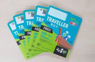 Unbegrenzte Prepaid-SIM-Karte für Thailand: 15 Tage
