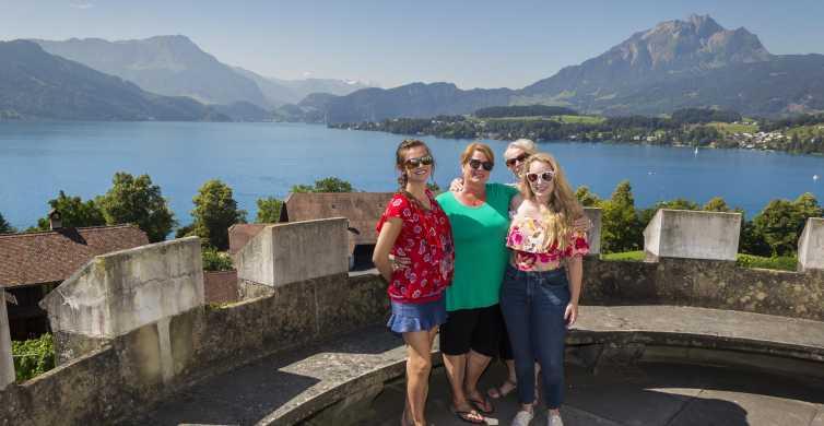 Lucerne: Full-Day Castles, Villages & Monasteries Tour