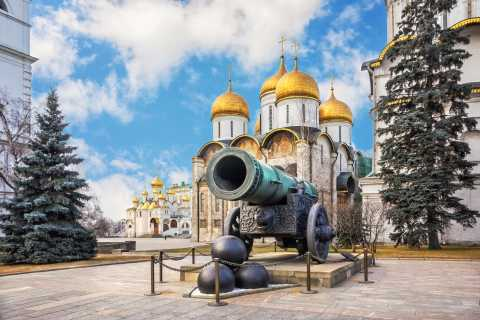 Moscow: Kremlin and Metro Private Tour with Pickup