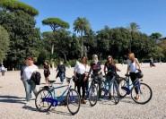 Rom: Geführte Fahrradtour durch Gärten der Villa Borghese