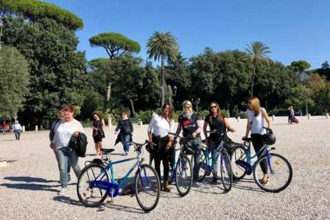 Rome: Guided Villa Borghese Gardens Bike Tour
