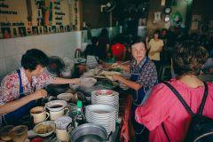 Excursão Gastronômica de 15 Provadores na Cidade Velha de Phuket