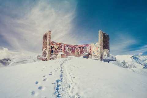 Tiflis: Ganztägige Kazbegi, Gudauri und Ananuri Tour