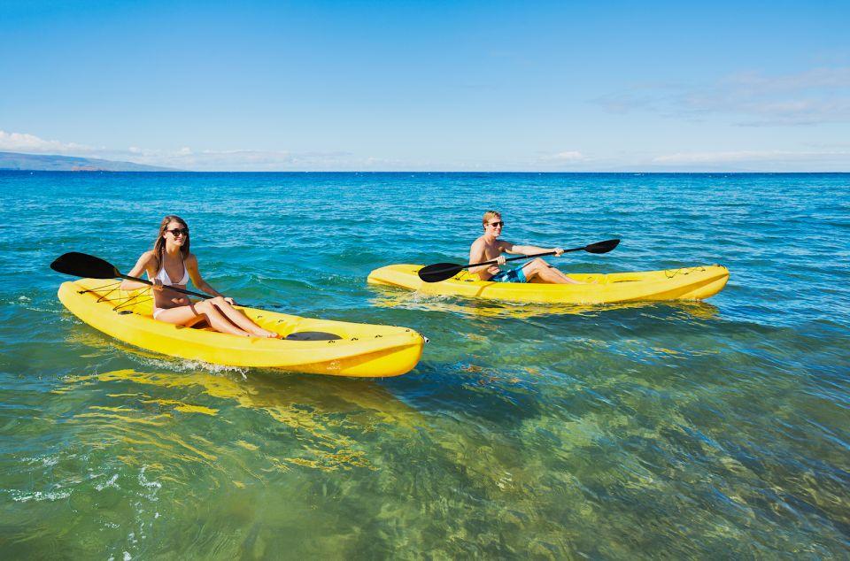 Maui: Premium Turtle Town Kayak and Snorkel Tour