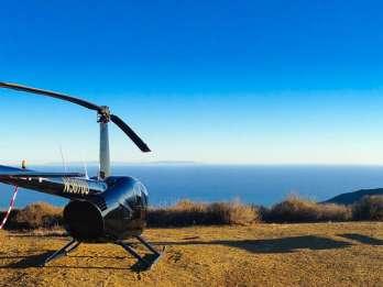 Los Angeles: Romantischer Hubschrauberflug mit Berglandung