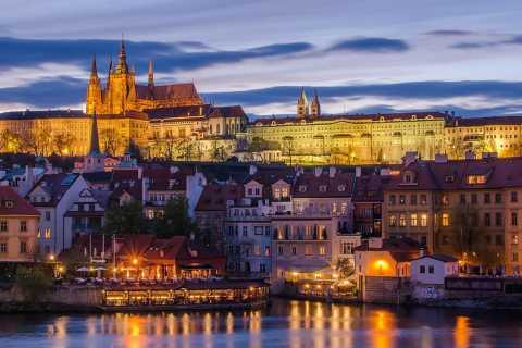 Prag: Kvällsfotografering med bil