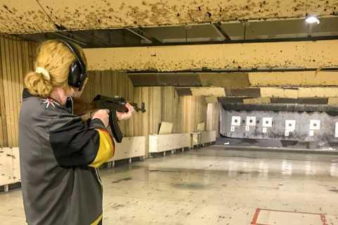 Moscow: Kalashnikov Shooting Range Session