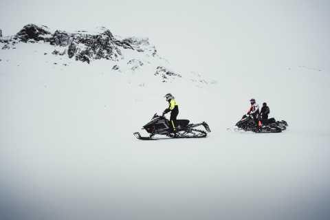 From Gullfoss: Glacier Rush on Langjökull Glacier