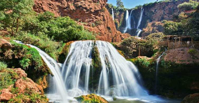 Marrakech: Ouzoud Waterfalls Full-Day Trip with Boat Ride