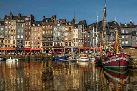 From Paris: Small Group Day Tour to Honfleur & Cote Fleurie