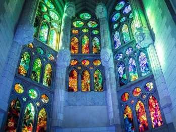 Ohne Anstehen: Führung durch die Sagrada Familia