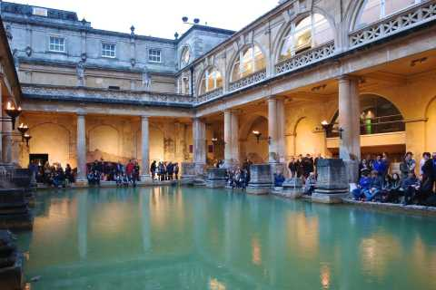 Bath: Roman Baths and City Walking Tour
