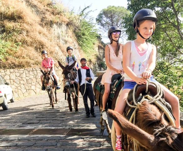Savoca: halve dag ezelrijden en Godfather Tour