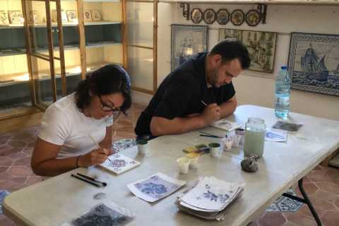 Lisbon Tiles and Tales: Full-Day Tile Workshop and Tour