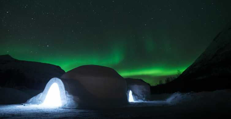 Tromsø Ice Domes Hotel Overnight Stay with Meals & Transfers