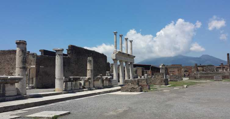 Naples: Pompeii and Sorrento Private Tour with Guide