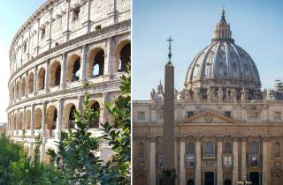 Rom: Geführte Tagestour Vatikanstadt und Kolosseum
