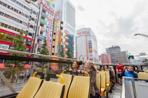 Tokyo 24-Hour Hop-on Hop-off Sightseeing Bus Ticket