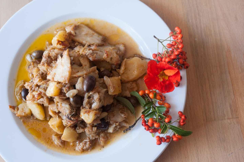 Genua: Markttour & Mittag-/Abendessen bei Cesarina