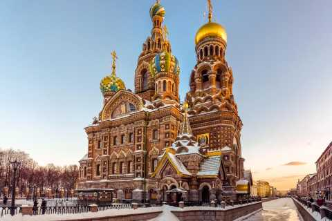 The Church of the Savior on Spilled Blood Private Tour