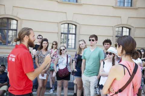 Tour gratuito a pie sin colas por Múnich y tasa de reserva