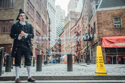 NYC: Historical Walking Tour w/ Optional Attraction Ticket