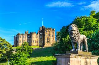Ab Edinburgh: Alnwick Castle und Scottisch Borders