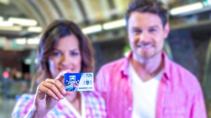 Budapest Card: transporte público, 30 atracciones y tours