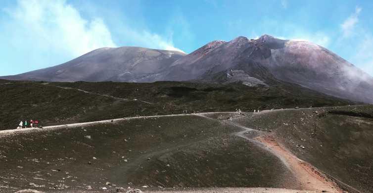 From Taormina: Etna Summit Area (2900m), Lunch & Alcantara