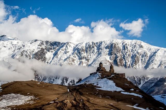 Kazbegi: Caucasus Mountains Full-Day Tour