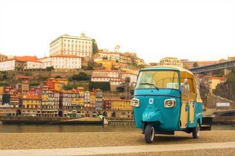Porto: Guided Historical Center Tuk Tuk Tour