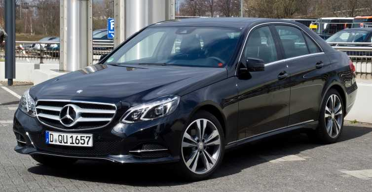 Rome: 1-Way Private Luxury Airport Transfer