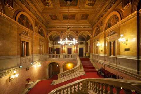 Budapeste: Excursão a Pé 1,5H, Visita à Ópera, Mini Concerto