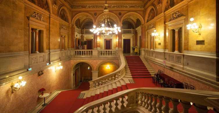 Budapest: 1.5 Hour Walking Tour, Opera Visit, Mini Concert