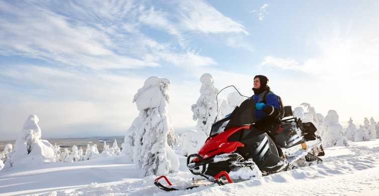 Fairbanks: 1-Hour Snowmobile Tour