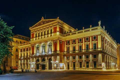 Vienne: concert de musique classique au Musikverein