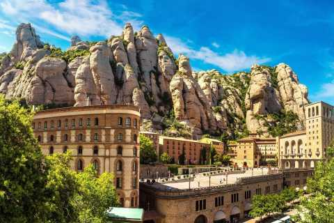 Barcelona: Full Day Tour to Montserrat and Organic Winery