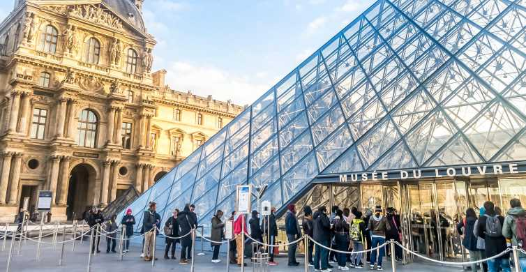 Parijs: ticket voor het Louvre met vaste toegangstijd