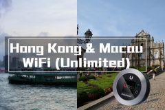 Hong Kong e Macau Pocket Wi-Fi com dados ilimitados