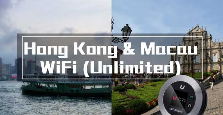 Hong Kong and Macau Pocket Wi-Fi with Unlimited Data