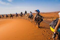 De Marrakech a Merzouga: Excursão de 3 Dias pelo Deserto