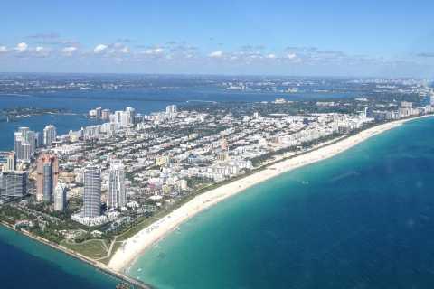 South Beach Tour by Plane