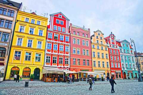 Wroclaw: 2.5-Hour City Tour by Electric Car