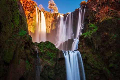 Excursão particular às cachoeiras de Ouzoud saindo de Marrakech