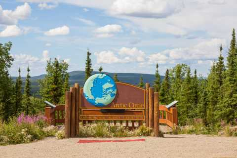 From Fairbanks: Arctic Circle Day Tour with Lunch
