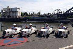 Frankfurt: excursão turística de 1 ou 2 horas em Hotrod