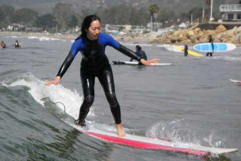 Santa Barbara Surfing Lesson